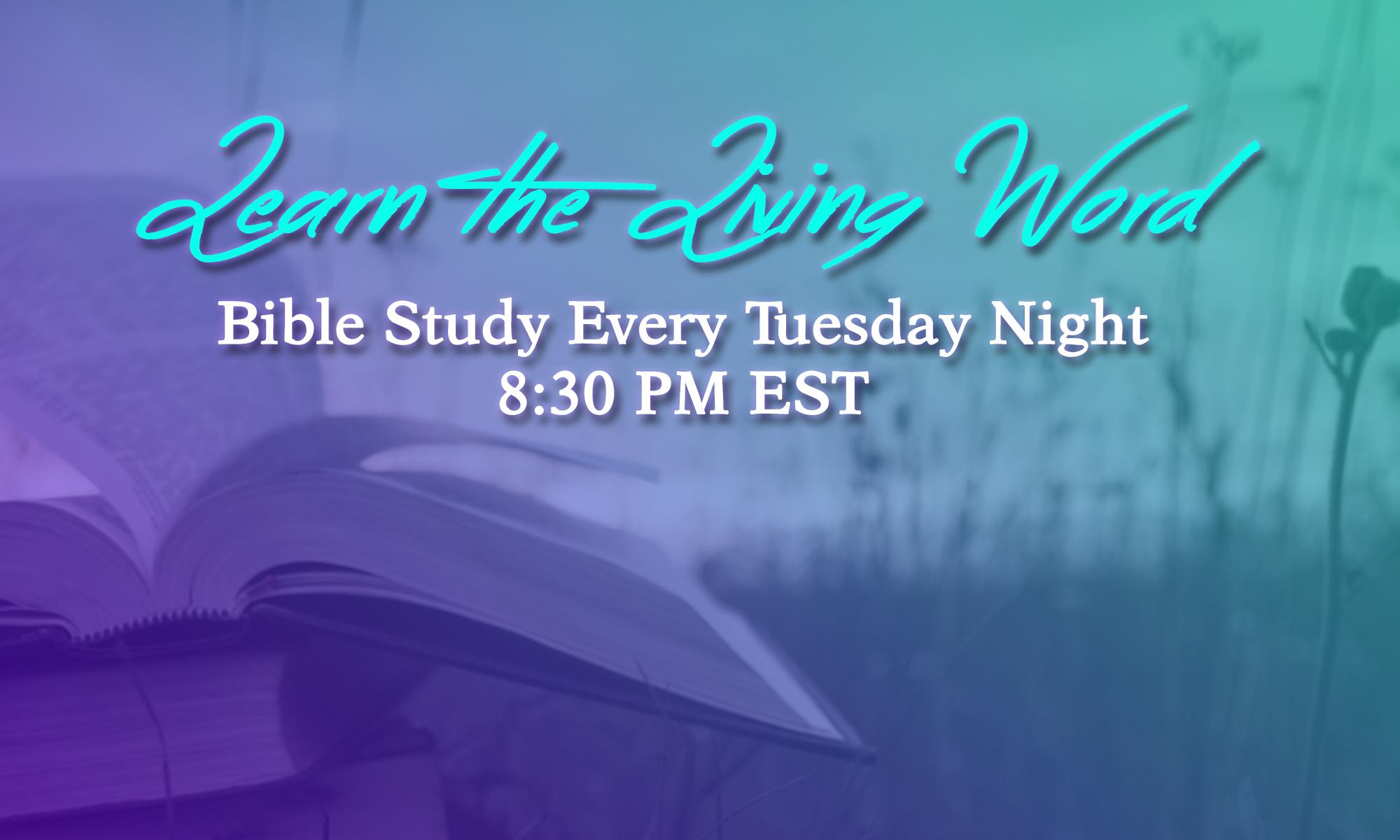 SCC Bible Study
